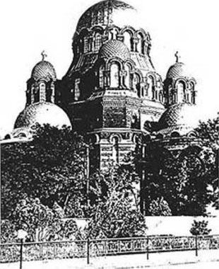 Свято-Знаменский собор города Хасавюрт